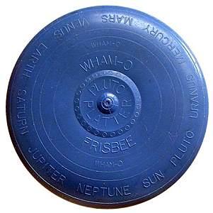 A late 50s Wham-O Frisbee