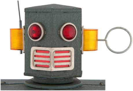 The Radicon Robot Head Close-Up. (Photo: © Theodore L. Hake)
