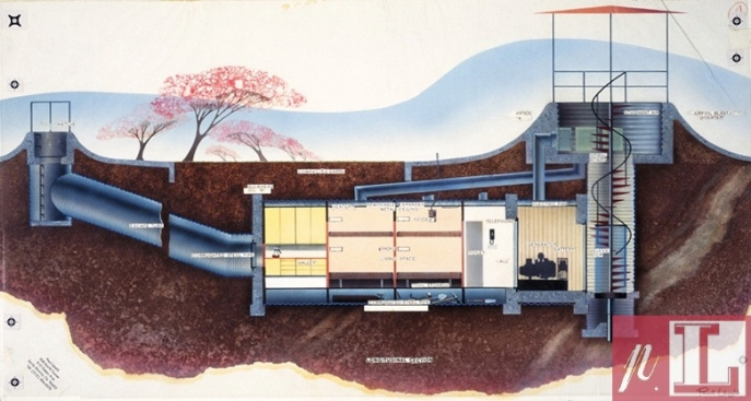 Laszlo US Airforce Air Force Bomb Shelter Design