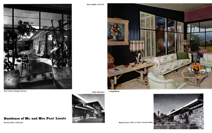 The Paul Laszlo Residence, Beverly Hills, CA (1 of 2)